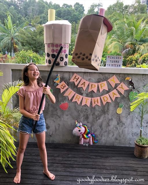 Boba Themed Birthday Party