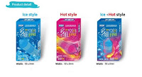 Kondom 3D Sensasi Panas Dan Dingin - 3D Hot and Cold Condom - 12 Pcs
