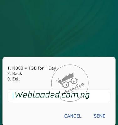 Glo New Daily Data Splash Plan - Get 1GB For N300