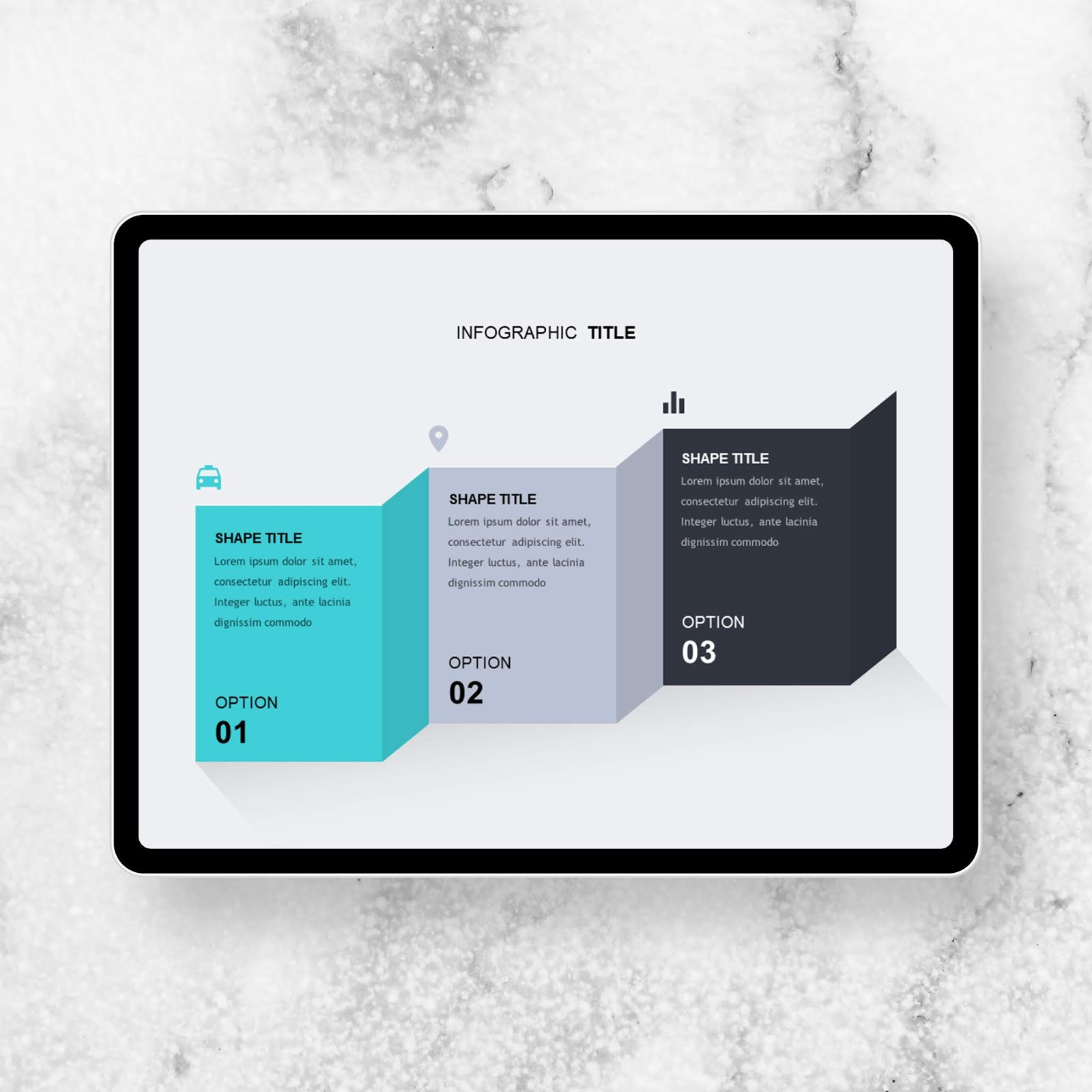 Three Wall PowerPoint Templates - PowerPoint Free