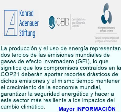 IX CONGRESO INTERNACIONAL DE MEDIO AMBIENTE