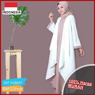 HJB047 Dress Azkiya Dress Abaya BMGShop