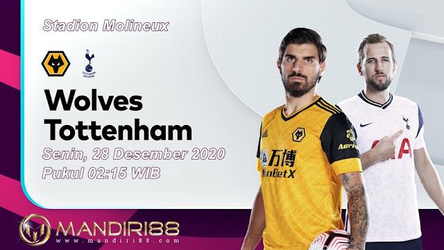 Prediksi Wolves Vs Tottenham Hotspur, Senin 28 Desember 2020 Pukul 02.15 WIB @ Mola TV