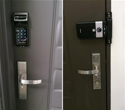 Khóa cửa điện tử giúp tôi không mất trộm
