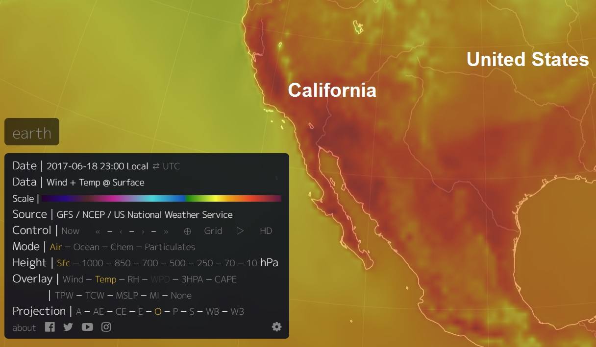 The Big Wobble: Heatwave to plague California with some
