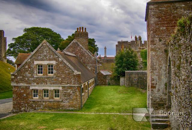 """Dover Castle - średniowieczny zamek określany jako """"Wrota do Anglii"""""""
