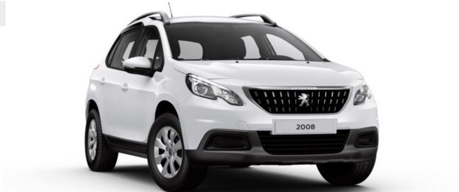 Colori Peugeot 2008 SUV bianco banchisa