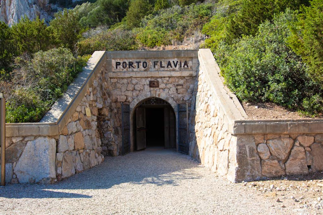 Porto Flavia-Ingresso