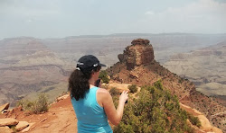 Mary at the Grand Canyon