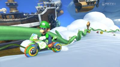 Mario Kart 8 +DLC (USA) Wii U ROM Screenshots #1