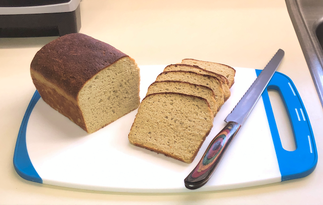 Sliced Wholesome Yum Keto Yeast Bread loaf