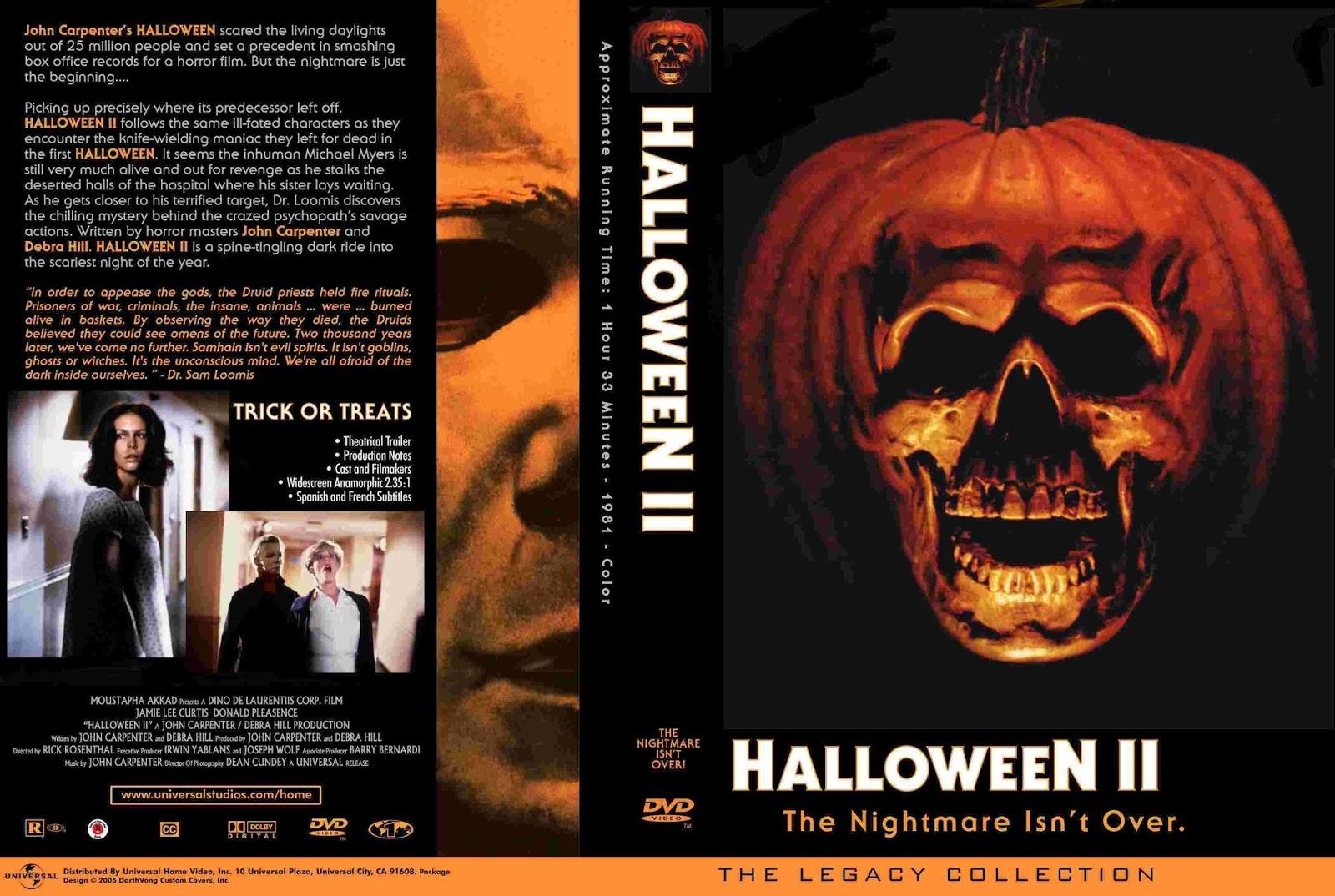 the horrors of halloween: halloween ii (1981) newspaper ads, vhs