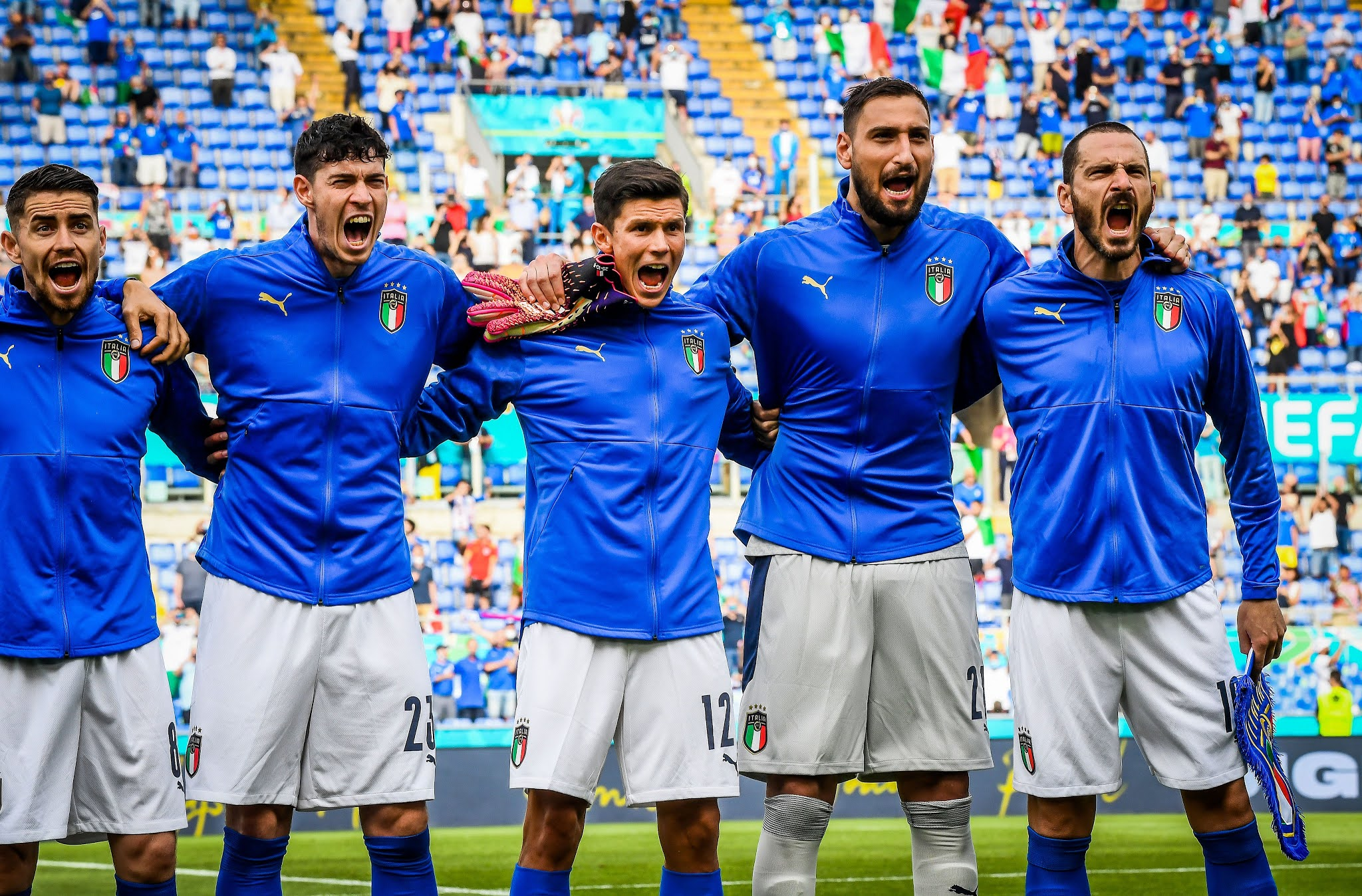 Italy are hot favourites to beat Austria to the quarter-finals