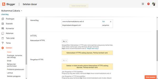 cara membuat custom domain idcloudhost