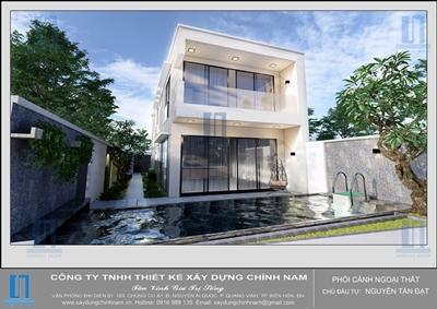 Thiết kế Biệt thự ở Biên Hòa