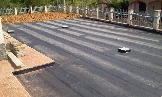 Impermeabilizzazione di terrazzo