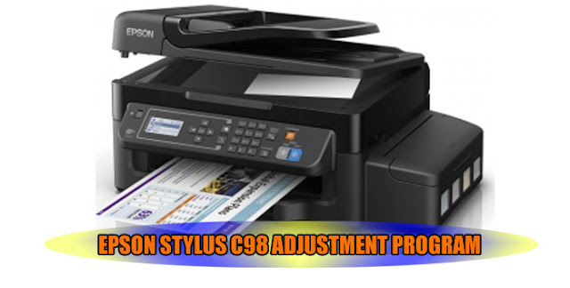 Epson Stylus C98 Printer Adjustment Program