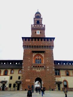 Italie Milan château des Sforza