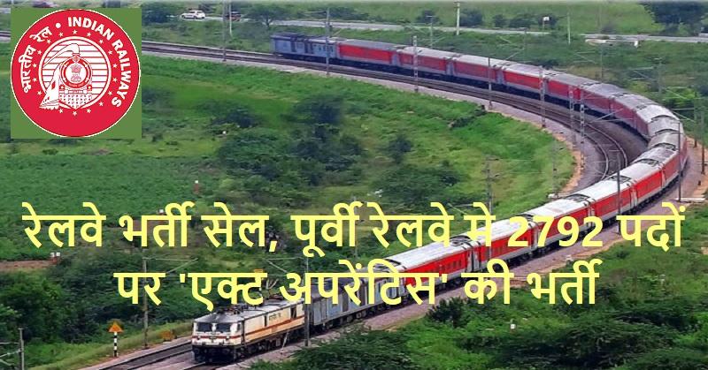 Eastern Railway jobs 2020
