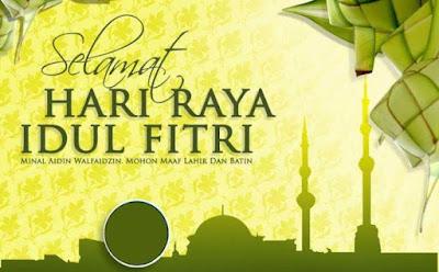 Selamat Hari Raya Idul Fitri 1440 H 2019