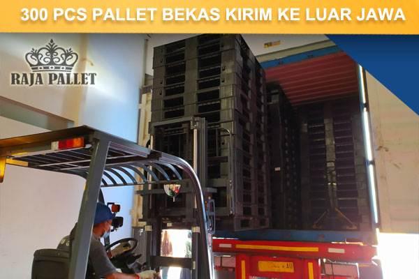 loading pengiriman pallet