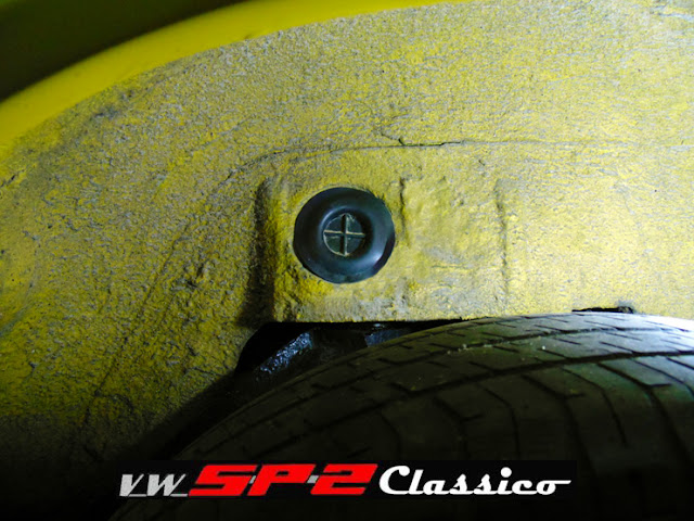 Caixa de Roda Traseira Volkswagen SP2