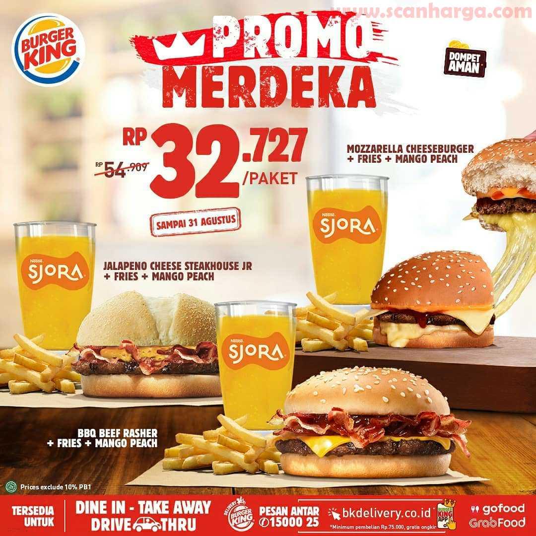 Burger King Promo Merdeka Periode 13 - 31 Agustus 2020 5