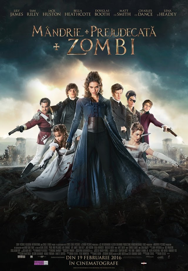 Pride and Prejudice and Zombies (Film 2016) - Mândrie, prejudecată şi zombi