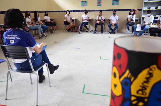 Escolas da rede estadual retomam as aulas nesta quinta-feira em modelo híbrido