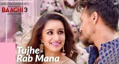 Tujhe Rab Mana Song Lyrics | Tiger Shroff | Shraddha Kapoor | Rochak Kohli Feat. Shaan