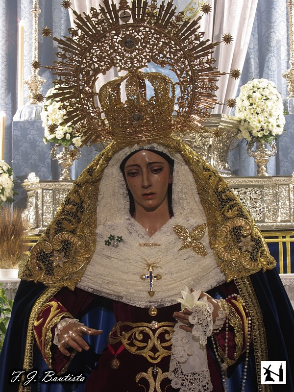 Horario e Itinerario Rosario matinal con la imagen de María Santísima de la Purísima Concepción. Sevilla Domingo 01 de Diciembre del 2019