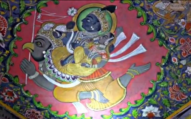 Lakshmi Narayan Karun painting
