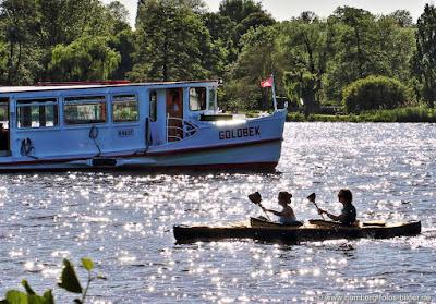 Hamburg Alster Boote