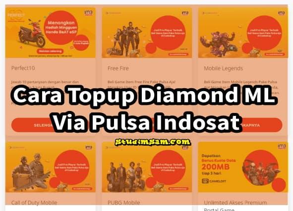 cara topup diamond ml via pulsa indosat