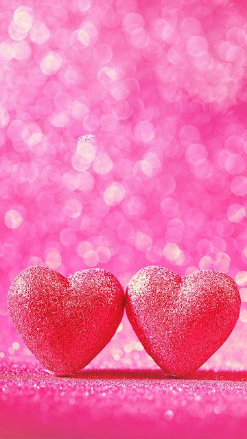 heart cute love iphone wallpaper