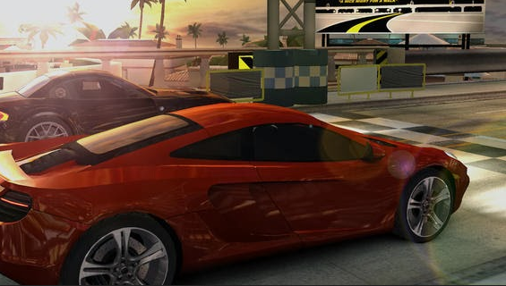 تحميل لعبة سباق السيارات CSR Racing للايفون والايباد والايبود مجاناً