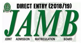 JAMB's DIRECT ENTRY: Requirements and how to register