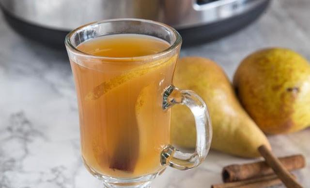 Caramel Pear Cider #drinks #hot