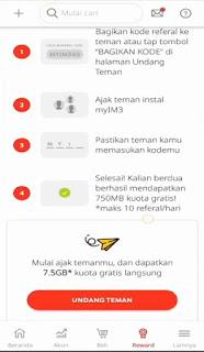 Trik Kuota Gratis Indosat 7,5 GB 2020