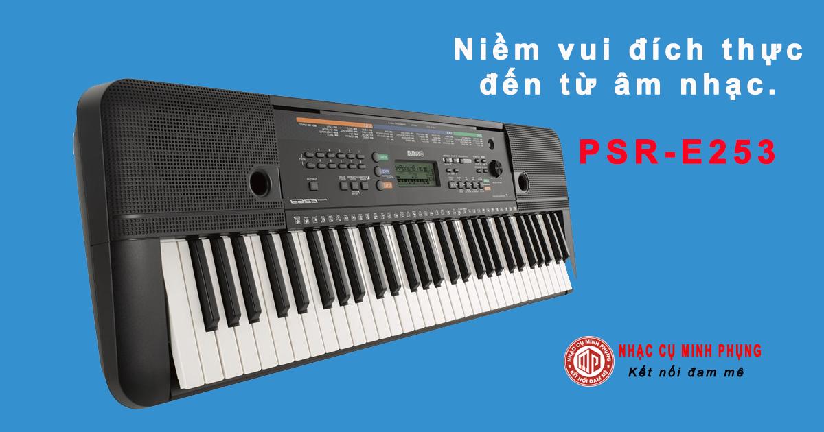 Mua Đàn keyboard PSR-E253 cho người mới học
