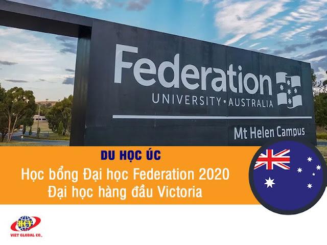 Du học Úc: Học bổng Đại học Federation 2020 – Đại học hàng đầu Victoria