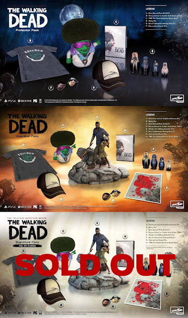 The Walking Dead: The Telltale Definitive Series – Collector Packs