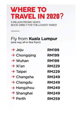 AirAsia BIG SALE of 2019 ( 4 Nov - 10 Nov 2019)