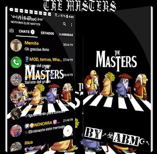 The Masters Theme For YOWhatsApp & Fouad WhatsApp By ALBERTO