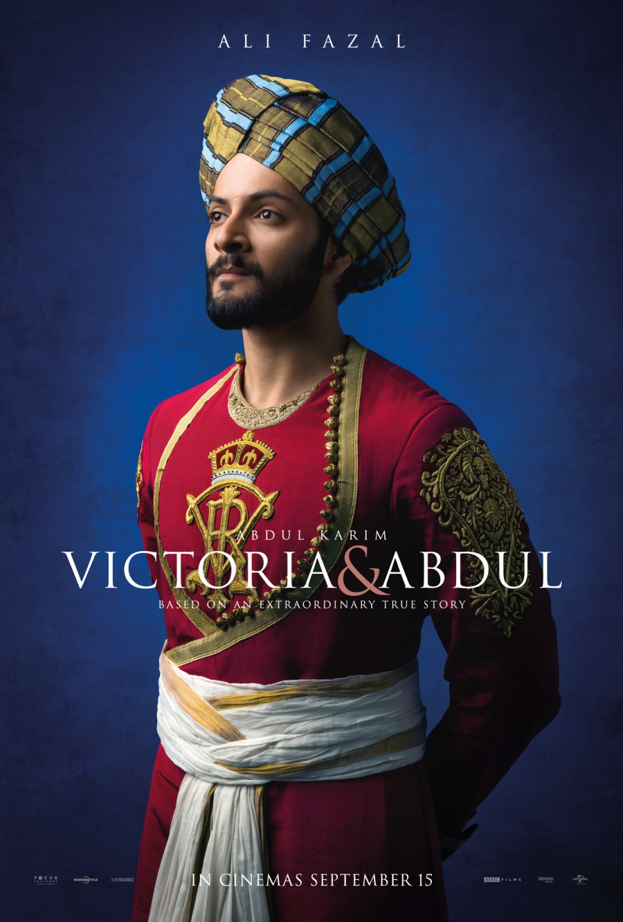 Ali Fazal as Abdul Karim In Victoria and Abdul - Poster Revealed!