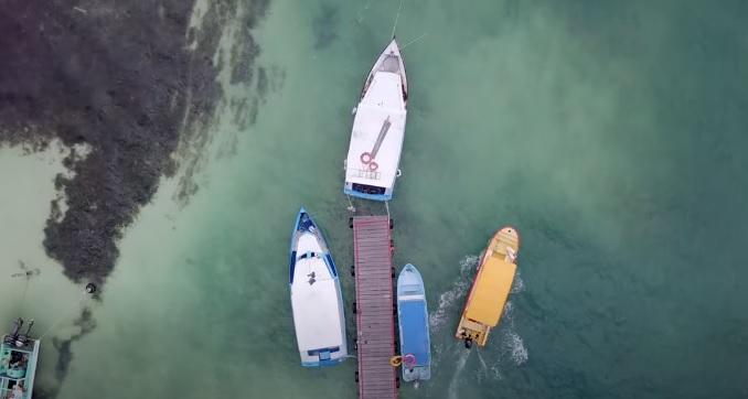 Embarcaciones de Excursiones en Cancun