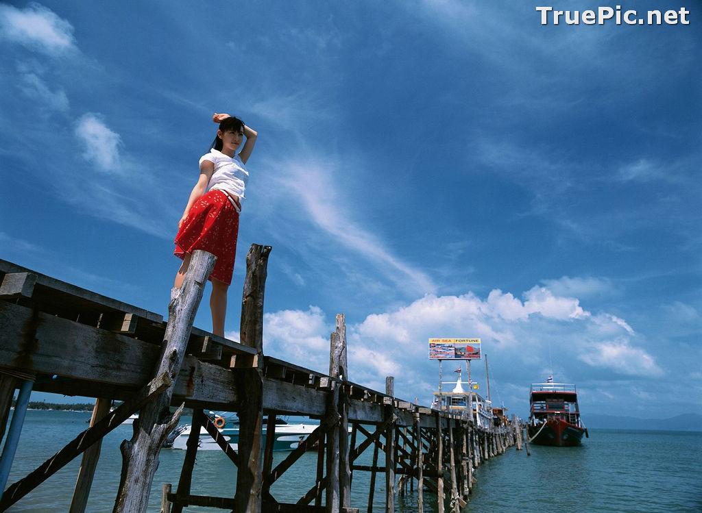 Image YS Web Vol.215 – Japanese Actress and Gravure Idol – Akiyama Rina - TruePic.net - Picture-2