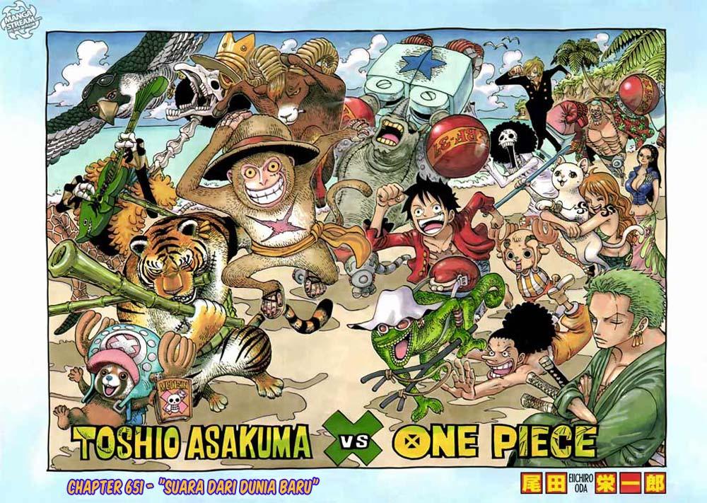 01 One Piece 650   Suara dari Dunia Baru
