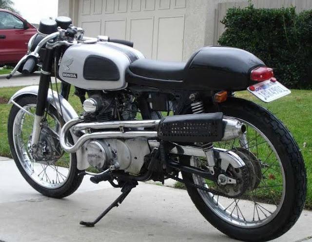 Modifikasi Motor Honda CB Bobber