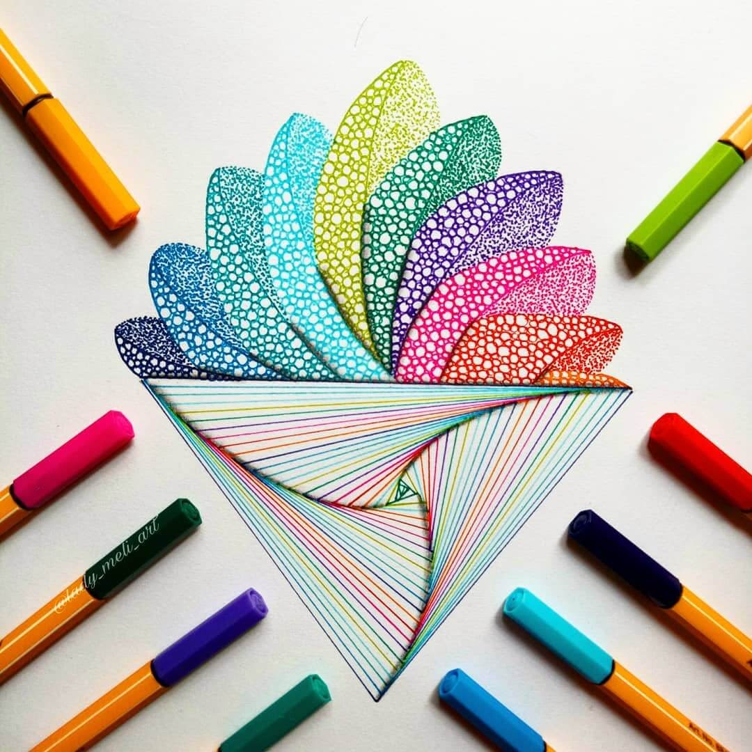 11-lady-meli-art-Colored-Pens-and-Geometric-Mandalas-Zentangles-Doodles-www-designstack-co